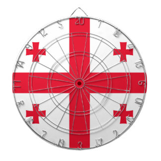 Flag of Georgia (country) - Dartboards