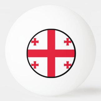 Flag of Georgia (country) - Ping-Pong Ball