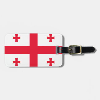 Flag of Georgia (country) - Tags For Luggage