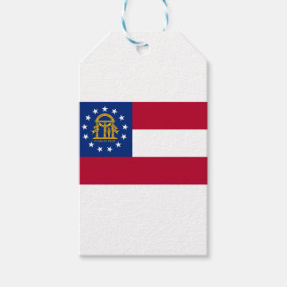 Flag Of Georgia Gift Tags