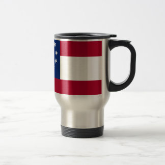 Flag Of Georgia Travel Mug