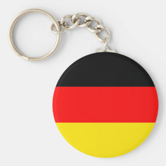 Flag of Germany Basic Round Button Keychain