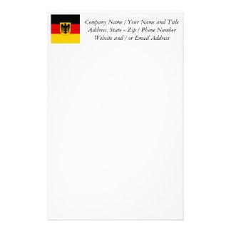 Flag of Germany - Bundesdienstflagge Custom Stationery