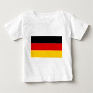 Flag of Germany - Bundesflagge und Handelsflagge Baby T-Shirt
