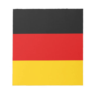 Flag of Germany - Bundesflagge und Handelsflagge Notepad