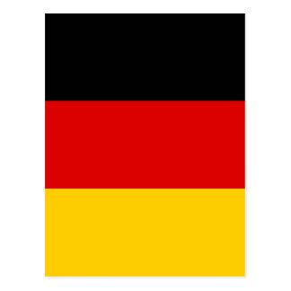 Flag of Germany - Bundesflagge und Handelsflagge Postcard