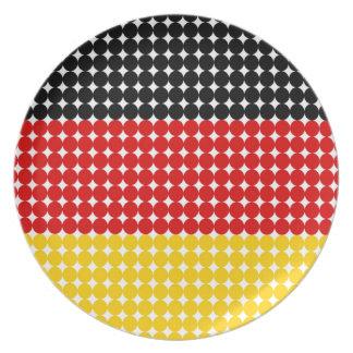 Flag of Germany Dinner Plate
