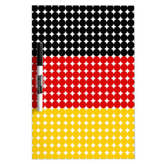 Flag of Germany Dry Erase Board