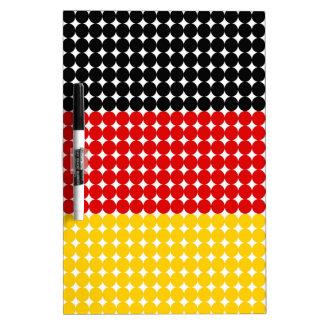 Flag of Germany Dry Erase Whiteboard