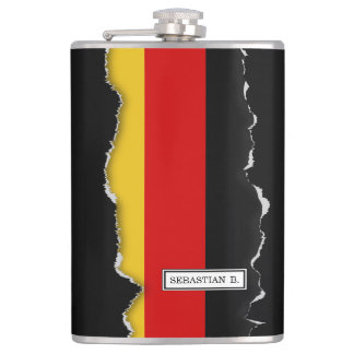 Flag of Germany Flasks