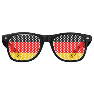 Flag of Germany, Fun German Flag Party Sunglasses