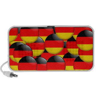 Flag Of Germany Laptop Speaker