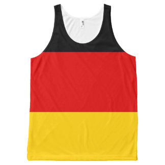 Flag of Germany or Deutschland All-Over-Print Tank Top