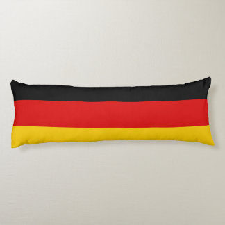 Flag of Germany or Deutschland Body Pillow
