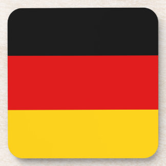 Flag of Germany or Deutschland Coaster