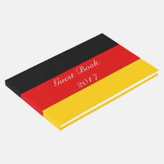 Flag of Germany or Deutschland Guest Book