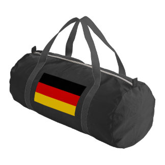 Flag of Germany or Deutschland Gym Bag
