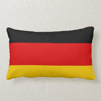 Flag of Germany or Deutschland Lumbar Pillow