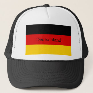 Flag of Germany or Deutschland Trucker Hat