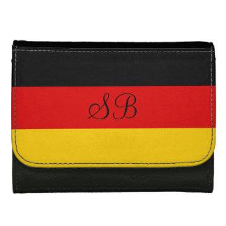 Flag of Germany or Deutschland Wallet For Women