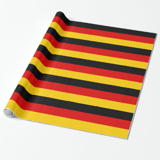 Flag of Germany or Deutschland Wrapping Paper