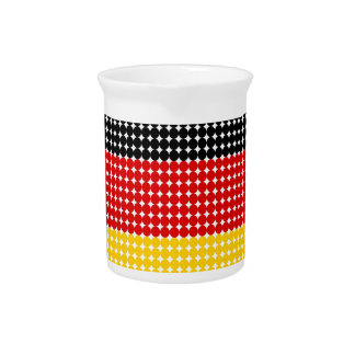 Flag of Germany Pitchers
