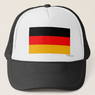 Flag of Germany Trucker Trucker Hat