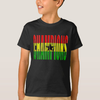 Flag of Ghana Africa 2010 Champions shirts