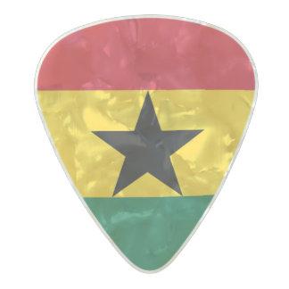 Flag of Ghana Guitar Picks Pearl Celluloid Guitar Pick