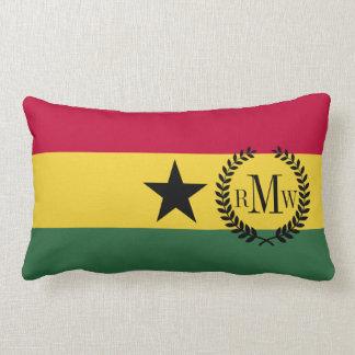 Flag of Ghana Lumbar Pillow