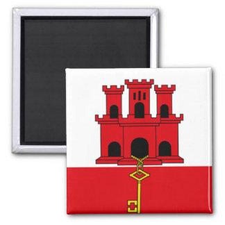 Flag of Gibraltar Magnet