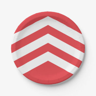 Flag of Glamorgan Paper Plate