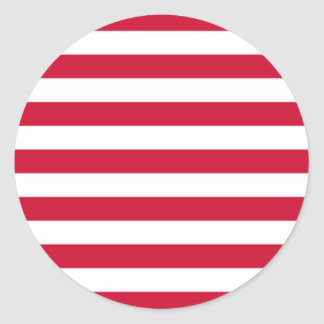 Flag of Goes Classic Round Sticker