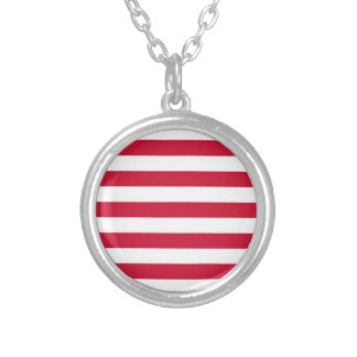Flag of Goes Silver Plated Necklace