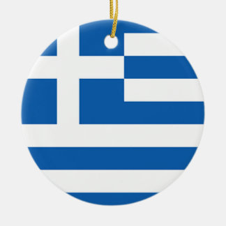 Flag of Greece, Greek Ceramic Ornament