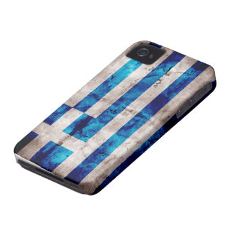 Flag of Greece; Greek iPhone 4 Case-Mate Cases