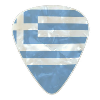 Flag of Greece Guitar Picks