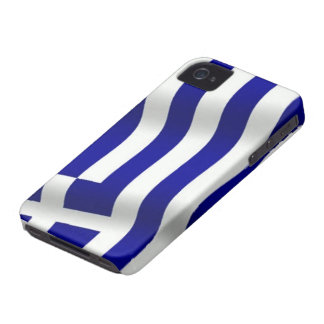 Flag of Greece iPhone 4 Case-Mate Case