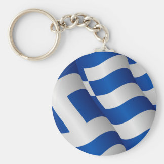 Flag of Greece keychain