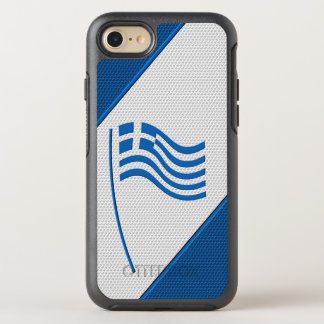Flag of Greece OtterBox Symmetry iPhone 7 Case