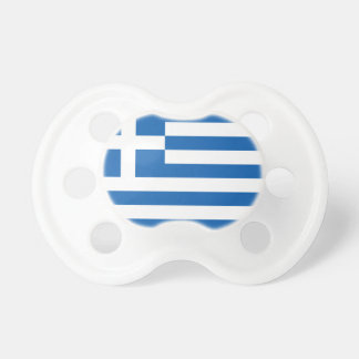 Flag of Greece Pacifiers