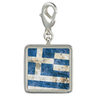 Flag of Greece Photo Charms
