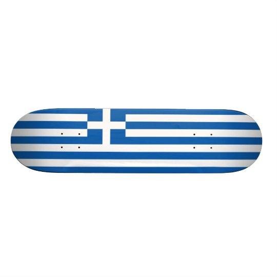 Flag of Greece Skateboard Deck