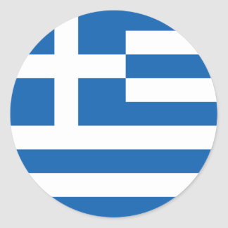 Flag of Greece Sticker (Circle)