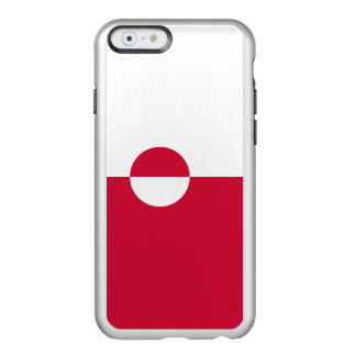Flag of Greenland Silver iPhone Case Incipio Feather® Shine iPhone 6 Case