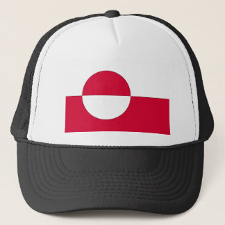 Flag of Greenland Trucker Hat