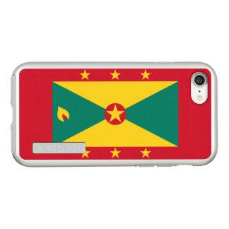 Flag of Grenada Silver iPhone Case