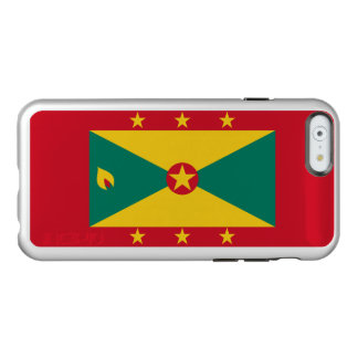 Flag of Grenada Silver iPhone Case Incipio Feather® Shine iPhone 6 Case
