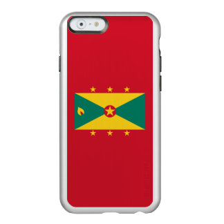 Flag of Grenada Silver iPhone Case Incipio Feather® Shine iPhone 6 Case