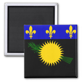 Flag of Guadeloupe Magnet